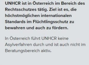 Kein Asyl in Österreich