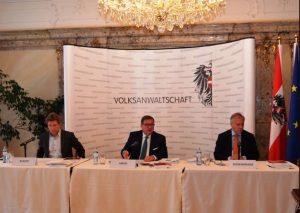 volksanwaltschaft österreich. volksanwalt achatz, volksnwalt amon, volksanwalt rosenkranz