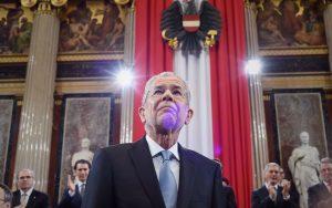 Alexander van der Bellen, Bundespräsident in Österreich